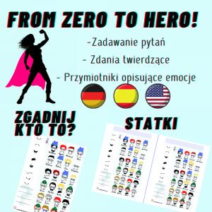 From Zero to Hero: Statki / Zgadnij Kto to? - Materiał offline i online